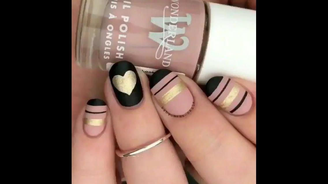 Vídeo com inspiração de decoração de unhas