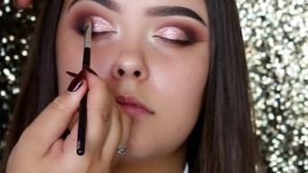 Vídeo Com Inspiração De Maquiagem Para Arrasar No Fim De Semana!