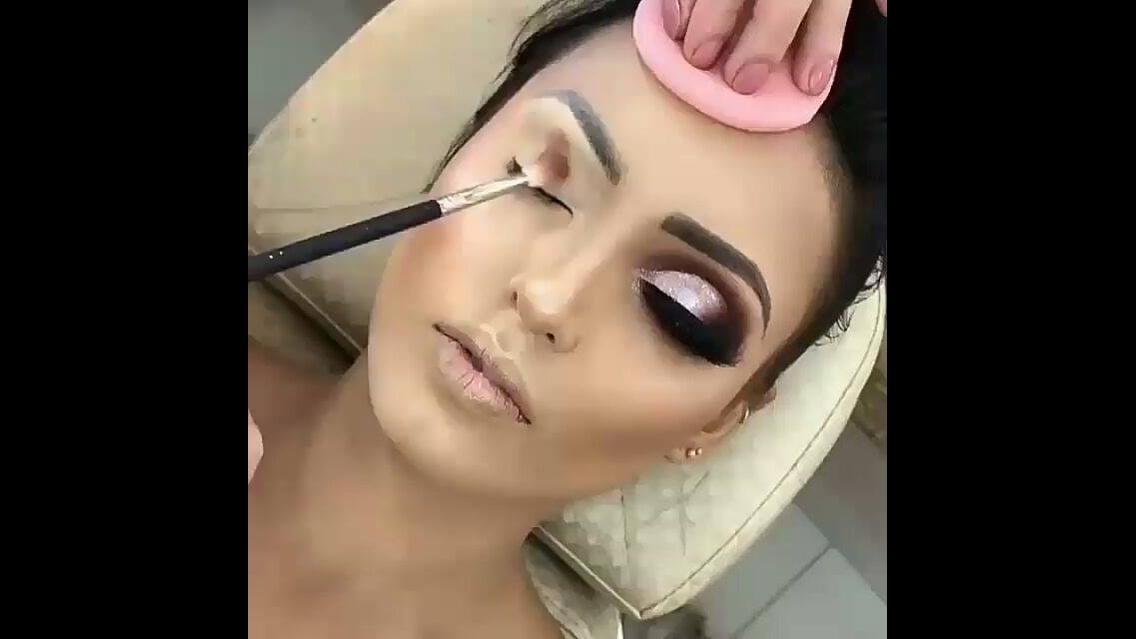 Vídeo com inspiração de maquiagem para formandas, olha a cor desta sombra!!!