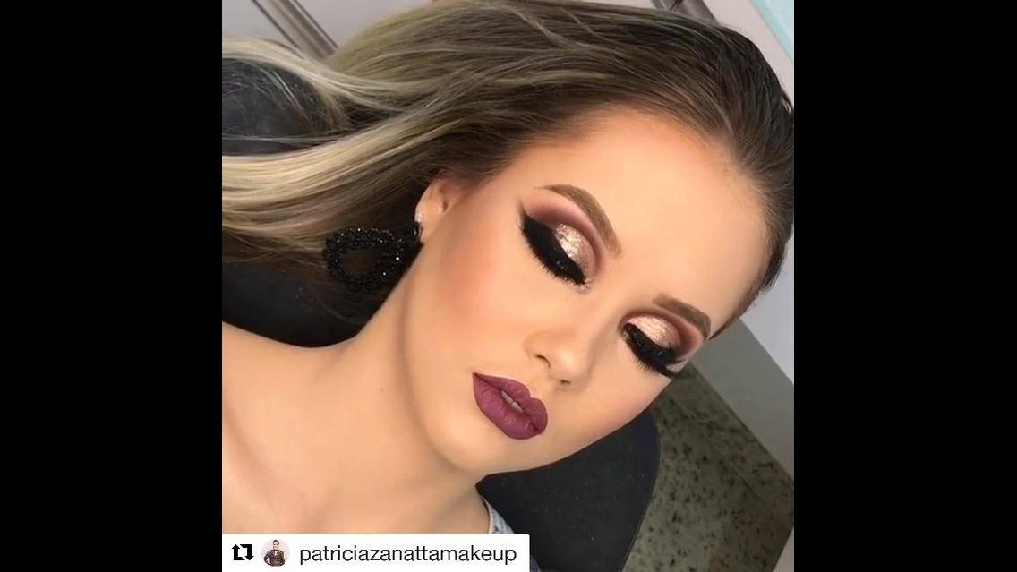 Vídeo com inspiração de maquiagem para formatura, olha só esta sombra!!!