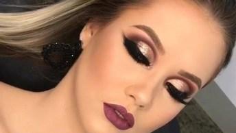 Vídeo Com Inspiração De Maquiagem Para Formatura, Olha Só Esta Sombra!