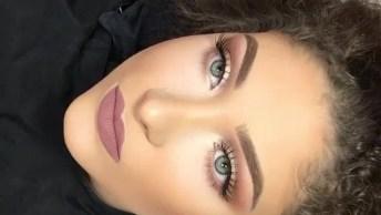Vídeo Com Inspiração De Maquiagem Para O Dia A Dia Super Bonita!