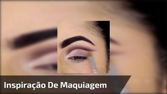 Vídeo Com Inspiração De Maquiagem Para Os Olhos, Vale A Pena Conferir!