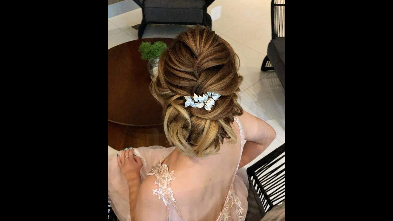 Vídeo com inspiração de penteado para noivas, veja que trabalho incrível!!!