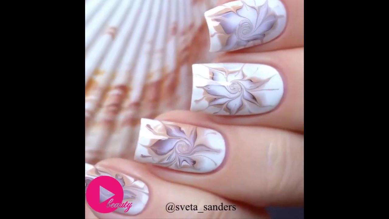 Vídeo com inspirações de decoração de unhas fáceis de fazer