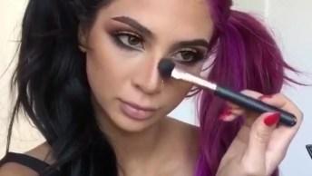 Vídeo Com Inspirações De Maquiagem, É Uma Mais Perfeita Que A Outra!