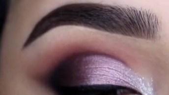 Vídeo Com Inspirações De Maquiagem Para Os Olhos, Tem De Várias Cores!