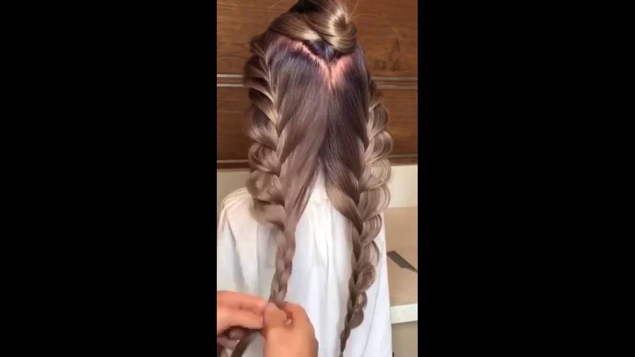 Vídeo com inspirações de penteados com trança