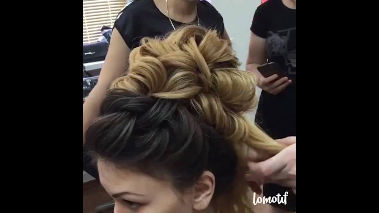 Vídeo com inspirações de penteados para noivas, é um mais belo que o outro!!!