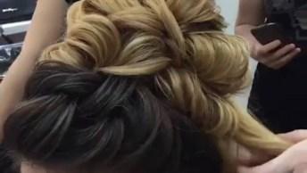 Vídeo Com Inspirações De Penteados Para Noivas, É Um Mais Belo Que O Outro!