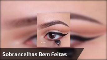 Vídeo Com Inspirações De Sombra Para Os Olhos, E Correção De Sobrancelhas!