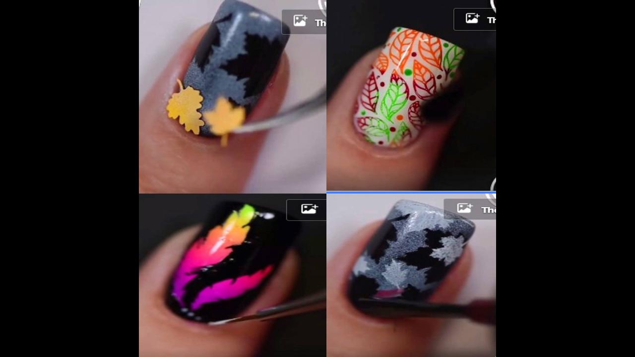 Vídeo com inspirações de unhas decoradas
