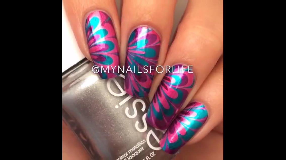 Vídeo com inspirações de unhas decoradas, elas são maravilhosas!!!