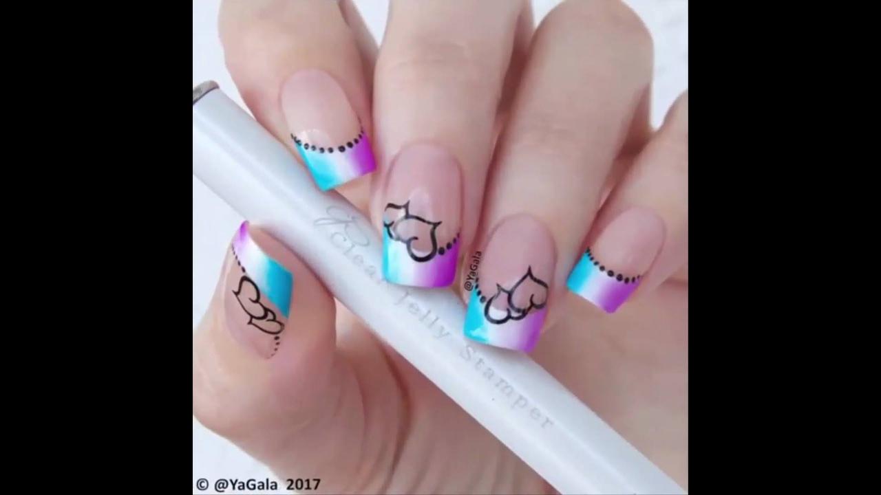 Vídeo com inspirações de unhas decoradas para você mesma fazer