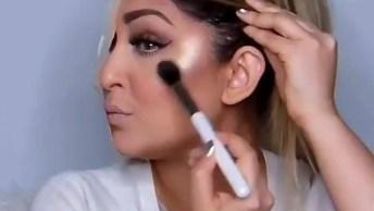 Vídeo Com Lado Com Maquiagem E Sem Maquiagem, E Aí Faz Alguma Diferença?