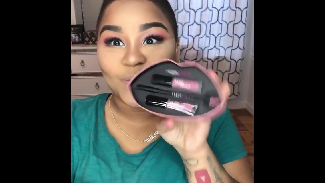 Vídeo com linda inspiração de maquiagem