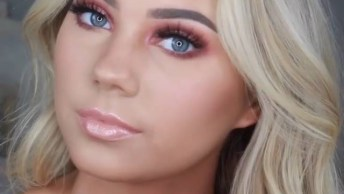 Vídeo Com Linda Maquiagem Para Arrasar Em Qualquer Momento, Confira!