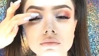 Vídeo Com Linda Maquiagem Para Arrasar Em Qualquer Momento Do Dia!