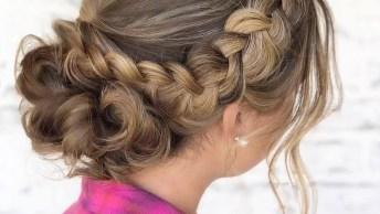 Vídeo Com Lindas Fotos De Penteados De Cabelos Para Te Inspirar!