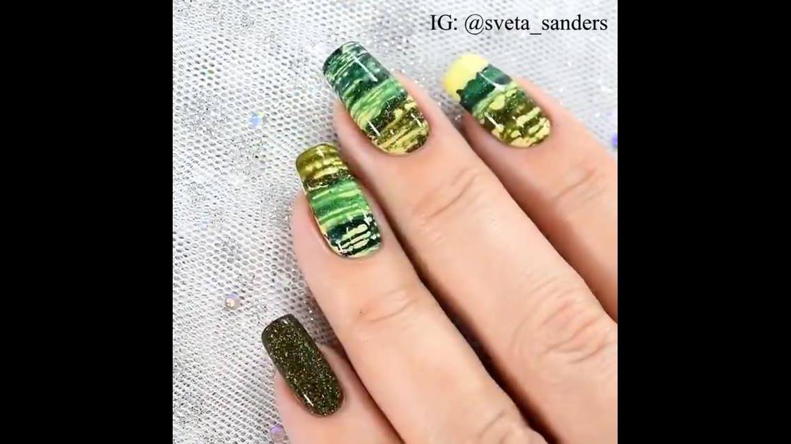 Vídeo com lindas inspirações de decoração de unhas
