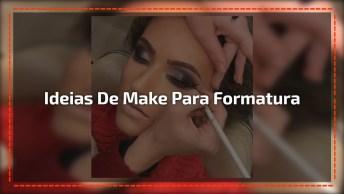 Vídeo Com Lindas Inspirações De Maquiagens Para Baile De Formatura!