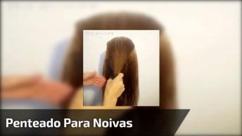 Vídeo Com Lindo Penteado Para Noivas Que Vão Se Casar Ao Ar Livre!