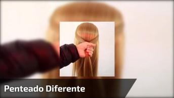 Vídeo Com Lindo Penteado, Vale A Pena Conferir! Compartilhe Com Suas Amigas!