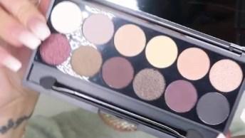 Vídeo Com Maquiagem Completa, Olha Só Que Linda Estas Sombras!