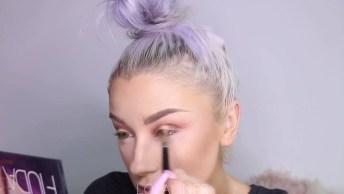 Vídeo Com Maquiagem Leve Para O Dia A Dia, Veja Que Coisa Mais Linda Estes Olhos