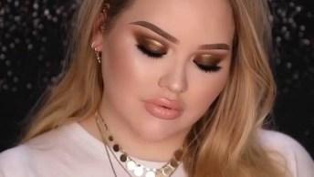 Vídeo Com Maquiagem Maravilhosa Para Te Inspirar, Olha Só Que Lindos Olhos!