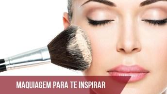 Vídeo Com Maquiagem Para Te Inspirar, Olha Só O Luxo Desta Make!