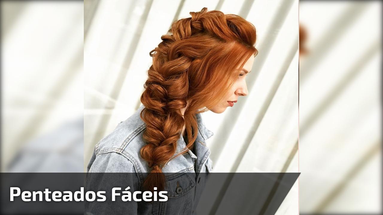 Vídeo com passo a passo de penteados fáceis para você mesma fazer, confira!!!