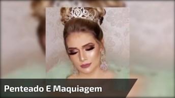 Vídeo Com Penteado E Maquiagem Para Noivas, Simplesmente Um Arraso!