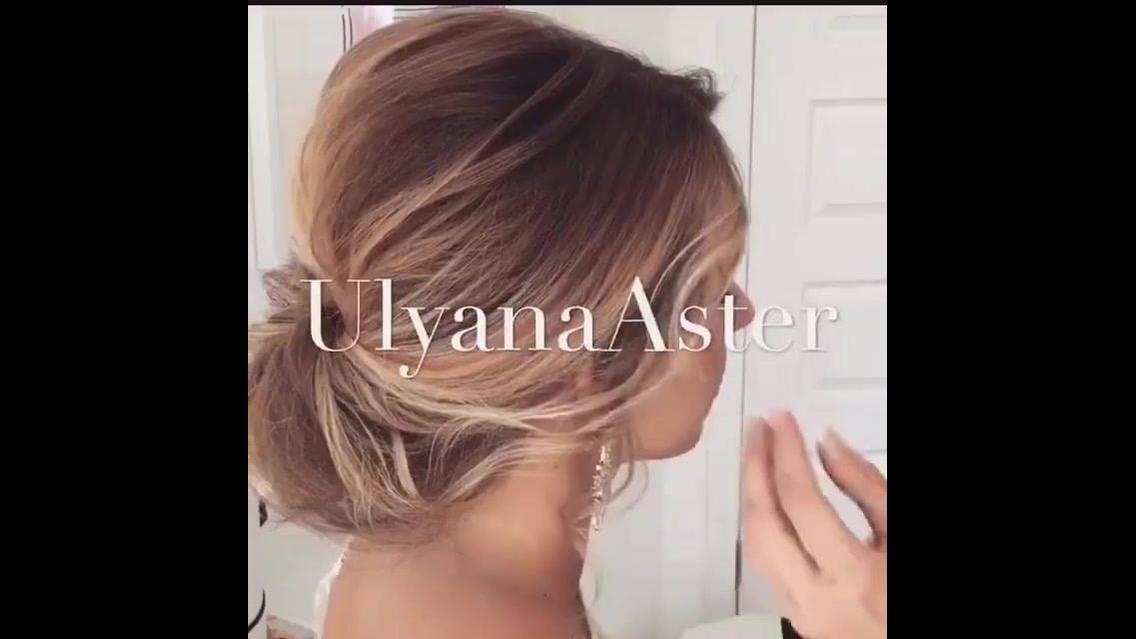 Vídeo com penteado lindíssimo para noivas