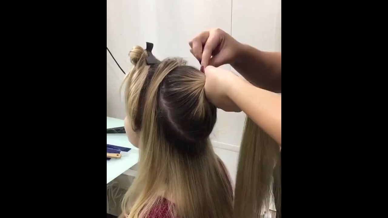 Vídeo com penteado maravilhoso, vale a pena conferir