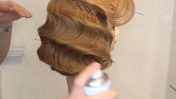 Vídeo Com Penteado Para Festa, Olha Só Que Espetáculo De Penteado!