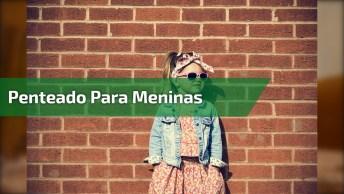 Vídeo Com Penteado Para Meninas, Veja Como Fica Lindinho Este Rabo De Cavalo!
