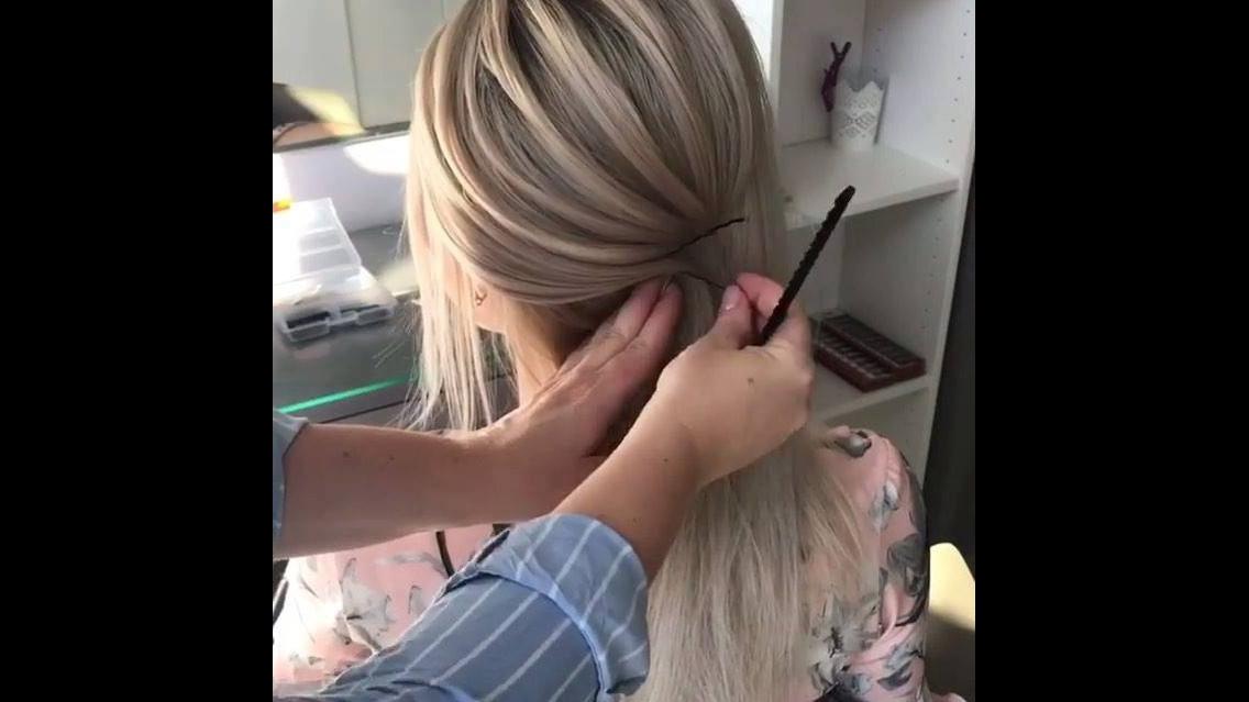 Vídeo com penteado para noiva, veja que lindo este coque baixo!!!