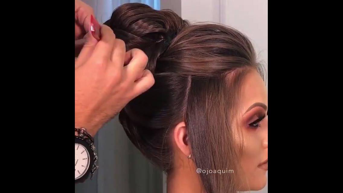 Vídeo com penteado para te inspirar