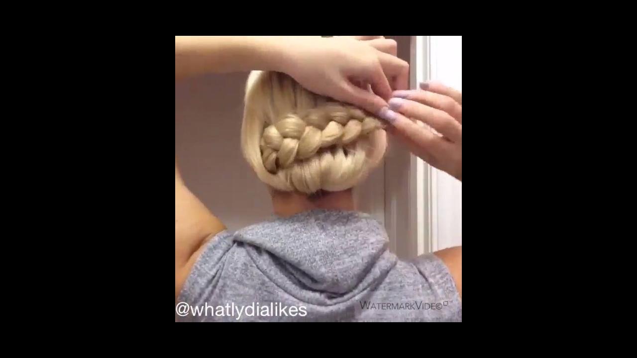 Vídeo com penteado para você mesma fazer, vale a pena conferir!!!