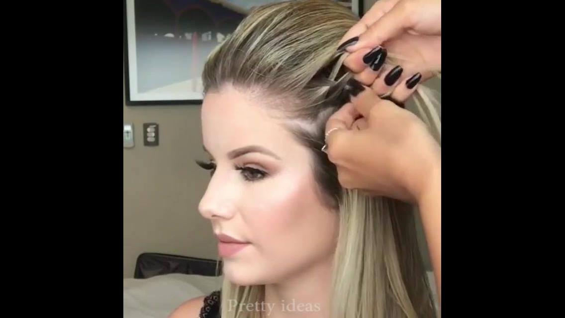 Vídeo com penteados lindíssimos para noivas, vale a pena conferir!!!
