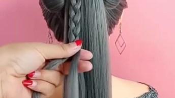 Vídeo Com Penteados Maravilhosos, São Todos Bem Trabalhados E Bonitos!