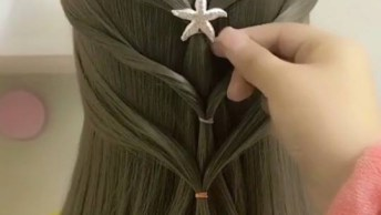 Vídeo Com Penteados Para Cabelos Médios, São Várias Inspirações Fofas!