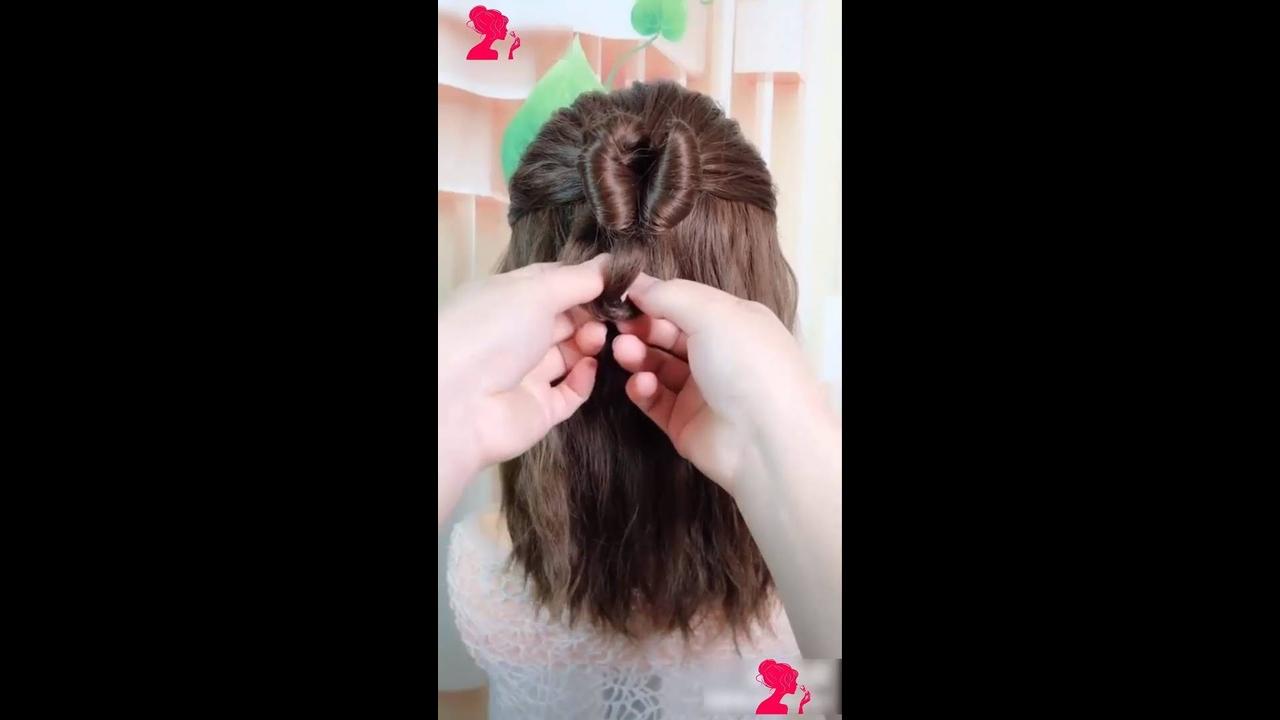 Vídeo com penteados para cabelos médios