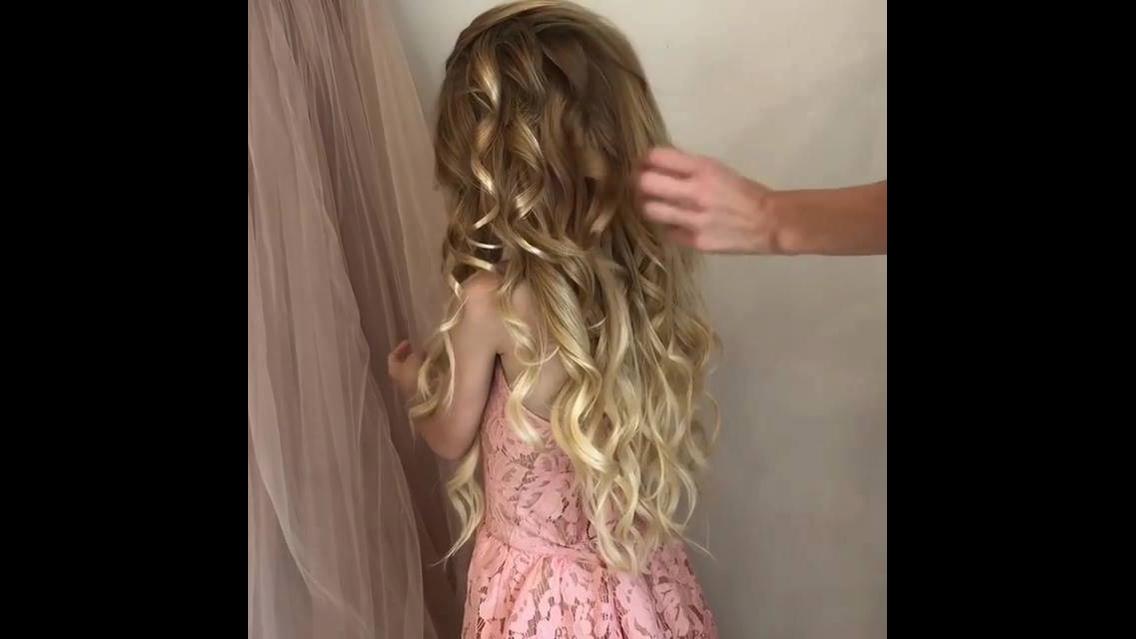 Vídeo com penteados para garotas