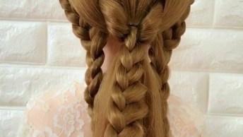 Vídeo Com Penteados Para Você Se Inspirar, Olha Só Que Lindos!