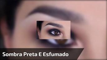 Vídeo Com Sombra Preta E Esfumado Marrom Perfeita Para Arrasar!