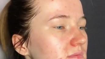 Vídeo Com Transformação Com Maquiagem Maravilhosa, Confira!