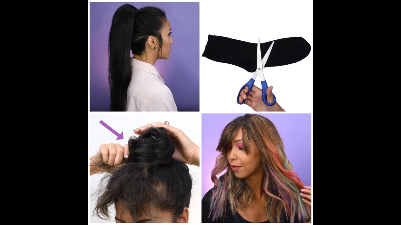 Vídeo com truques para cabelos
