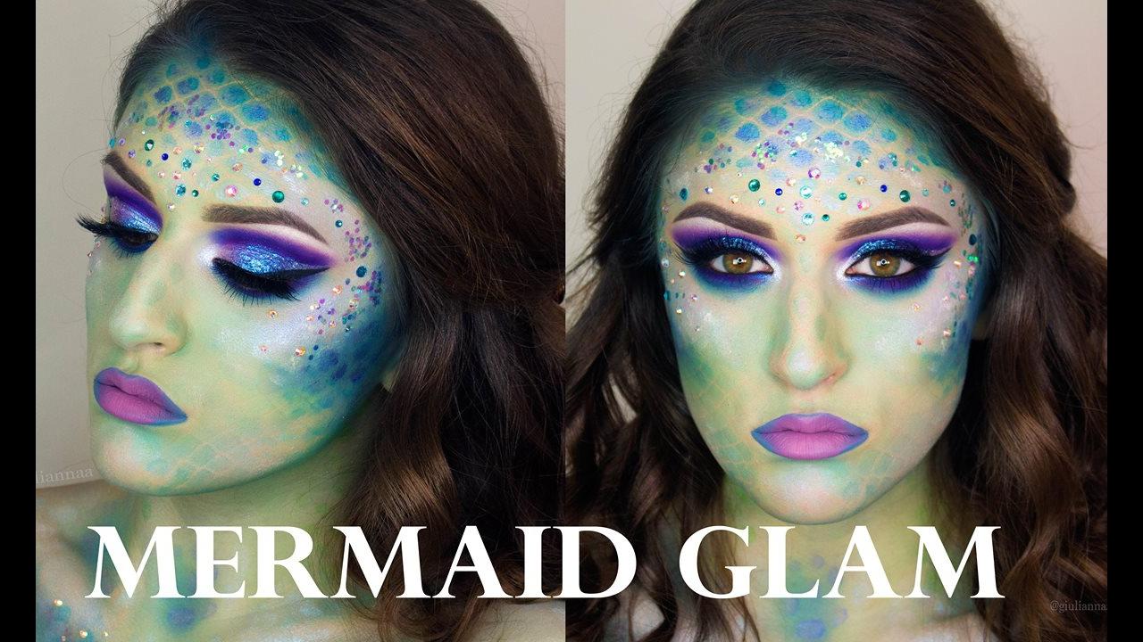 Vídeo com tutorial de maquiagem de sereia para arrasar nas festas a fantasia